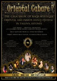 "SATURDAY: ""Oriental Cabaret"" - The Gala show of Raqs Mystique"