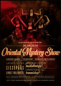 "FRIDAY: ""Queen of Improvisation"" competition & Oriental Mystery Show"
